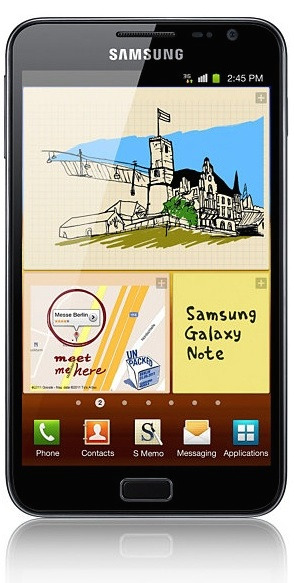 Repair service Galaxy Note N7000